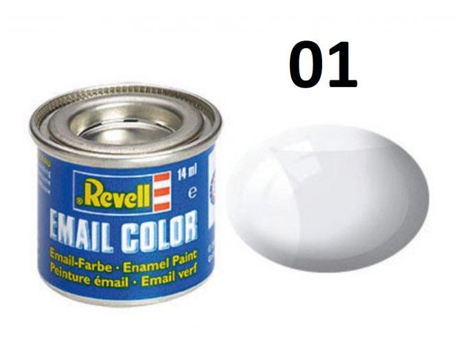 Revell barva emailová - 32101: leská čirá (clear gloss)