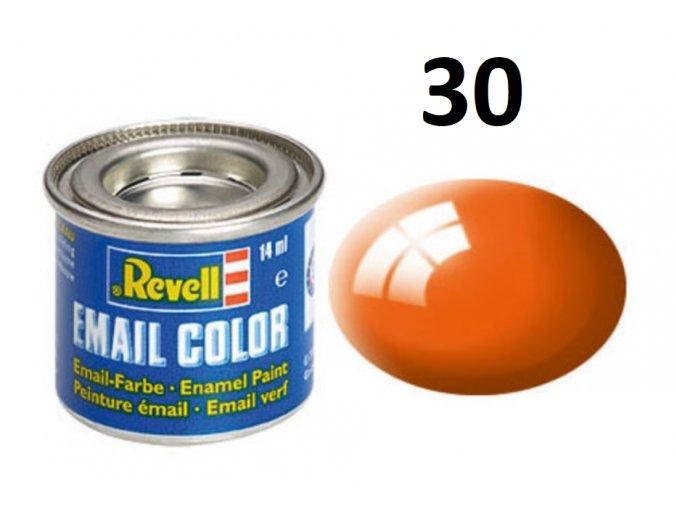 Revell barva emailová - 32130: leská oranžová (orange gloss)