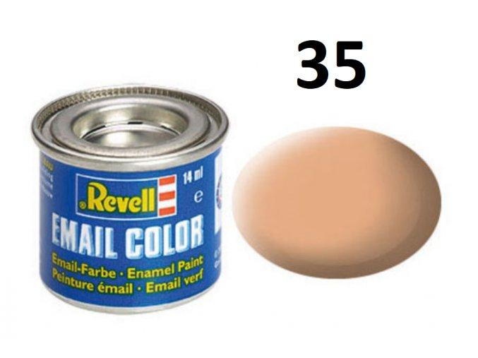 Revell barva emailová - 32135: matná tělová (flesh mat)