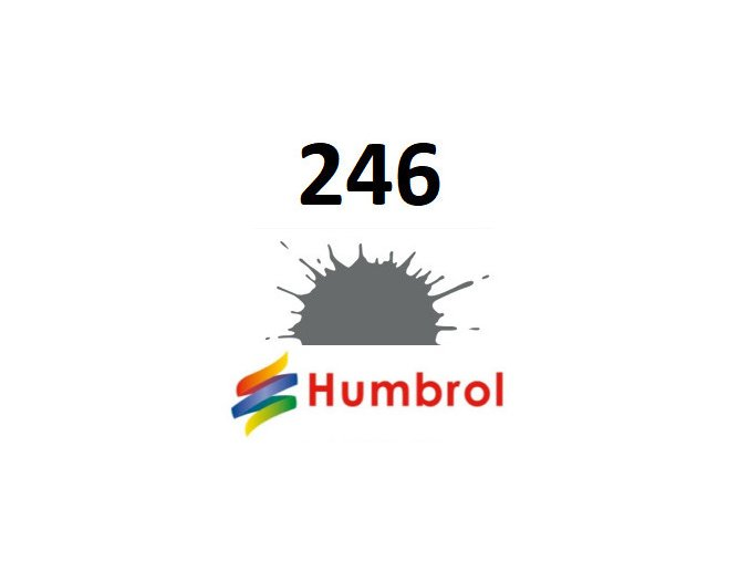 Humbrol barva (246) emailová, akrylová RLM 75 Grauviolett - Matt