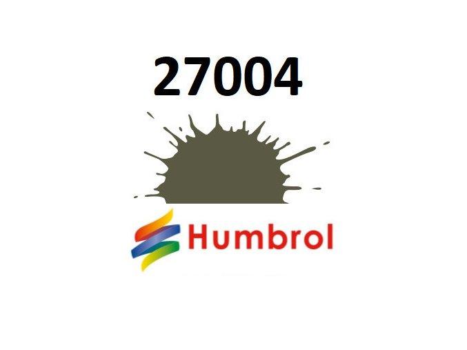 Humbrol barva (27004) emailová Gunmetal - Metalcote