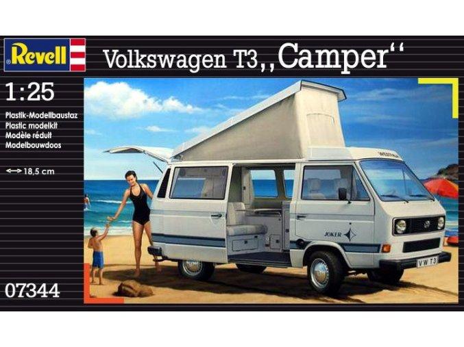 Revell auto Volkswagen T3 Camper 1:25 07344