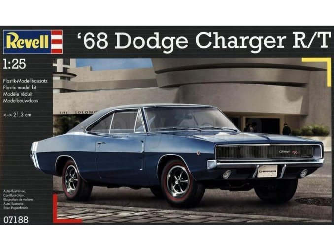 Revell auto 68 Dodge Charger R/T 1:25 07188