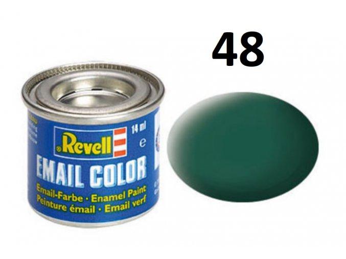 Revell barva emailová - 32148: matná mořská zelená (sea green mat)