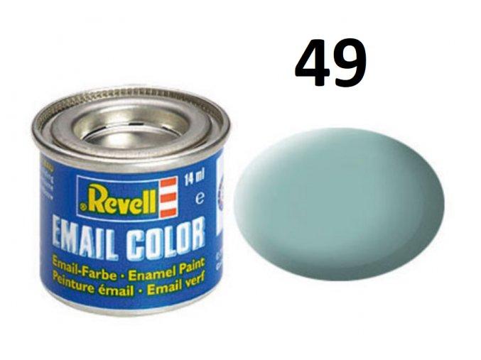 Revell barva emailová - 32149: matná světle modrá (light blue mat)