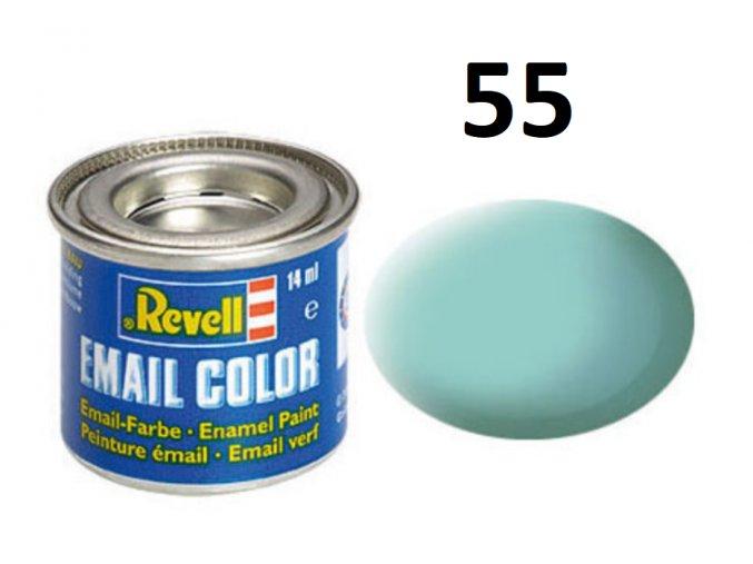 Revell barva emailová - 32155: matná světle zelená (light green mat)