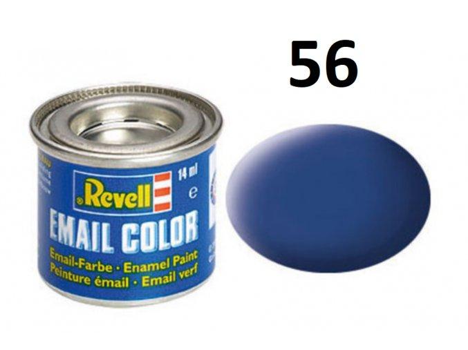 Revell barva emailová - 32156: matná modrá (blue mat)