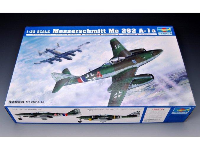 Trumpeter letadlo Messerchmitt Me 262 A-1a 1:32 02235