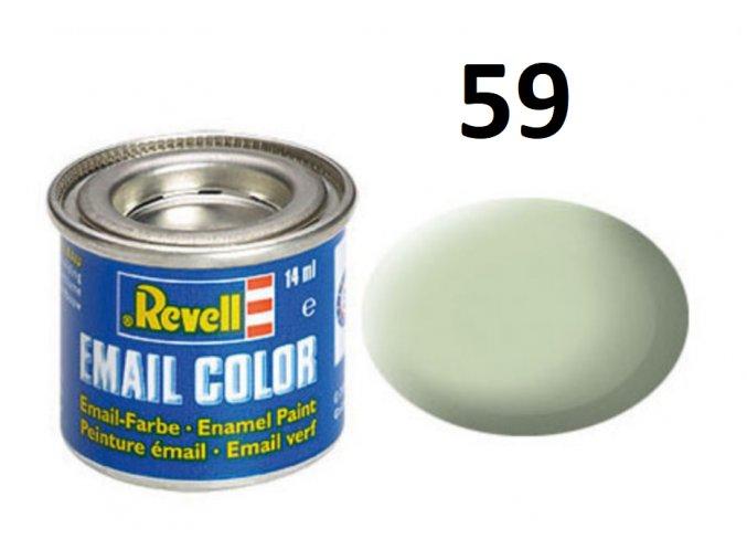 Revell barva emailová - 32159: matná nebeská (sky mat RAF)