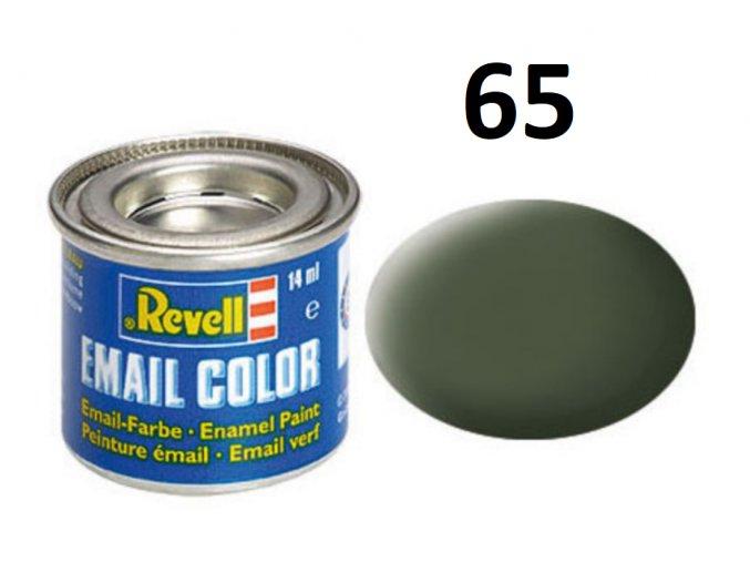 Revell barva emailová - 32165: matná bronzově zelená (bronze green mat)