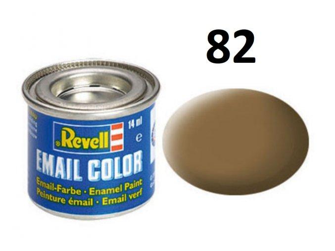 Revell barva emailová - 32182: matná temná země RAF (dark-earth mat RAF)