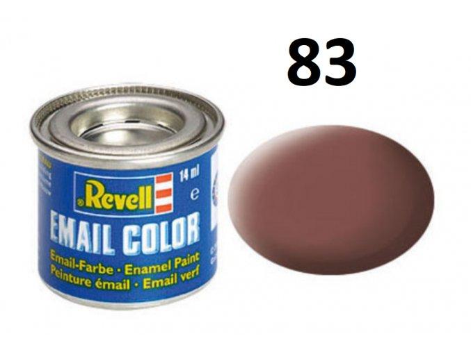 Revell barva emailová - 32183: matná rezavá (rust mat)