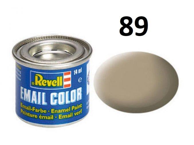 Revell barva emailová - 32189: matná béžová (beige mat)