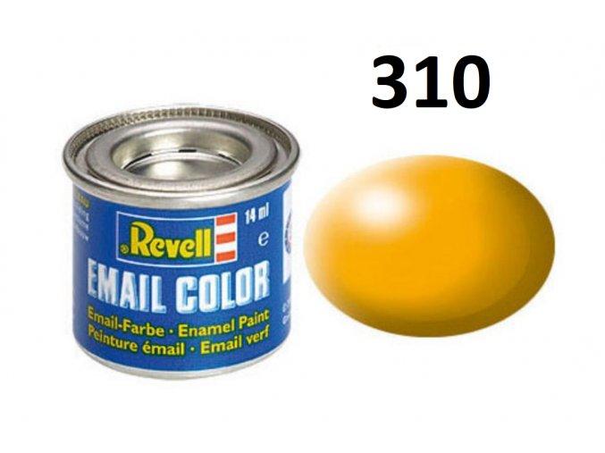 Revell barva emailová - 32310: hedvábná žlutá (yellow silk)