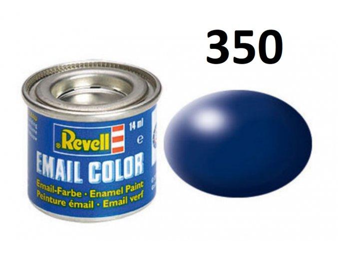 Revell barva emailová - 32350: hedvábná tmavě modrá (dark blue silk)