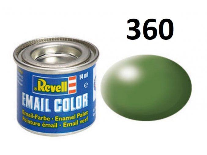 Revell barva emailová - 32360: hedvábná zelená (green silk)