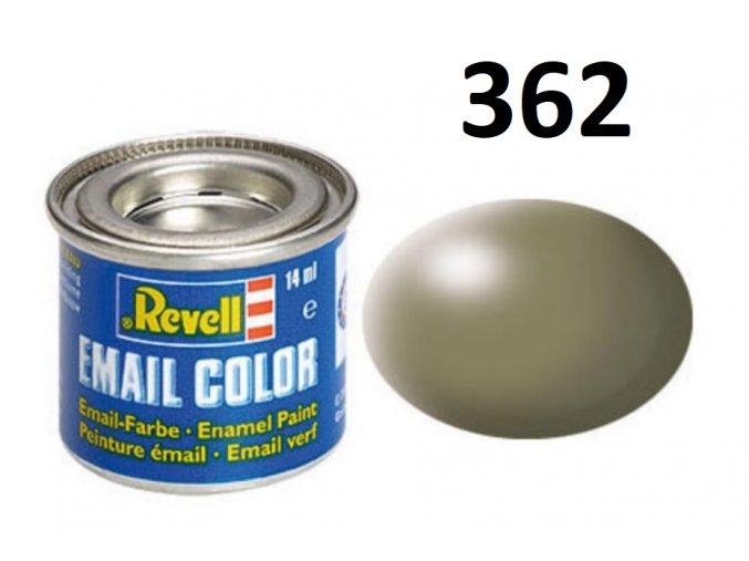 Revell barva emailová - 32362: hedvábná šedavě zelená (greyish green silk)