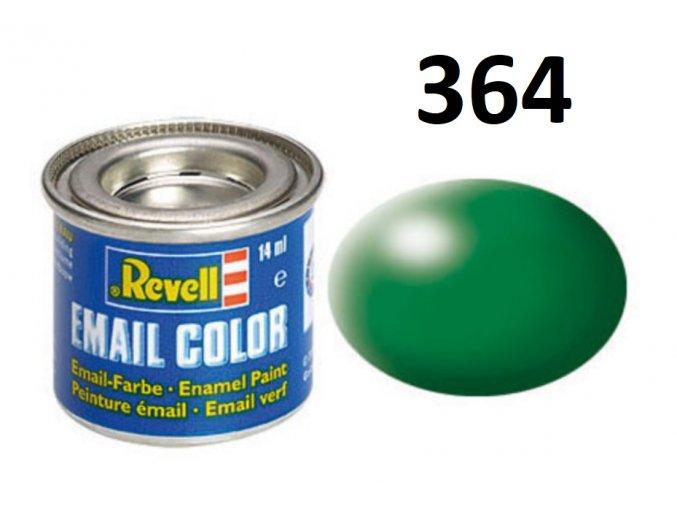Revell barva emailová - 32364: hedvábná listově zelená (leaf green silk)
