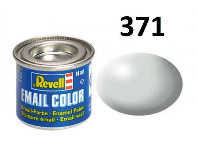Revell barva emailová - 32371: hedvábná světle šedá (light grey silk)