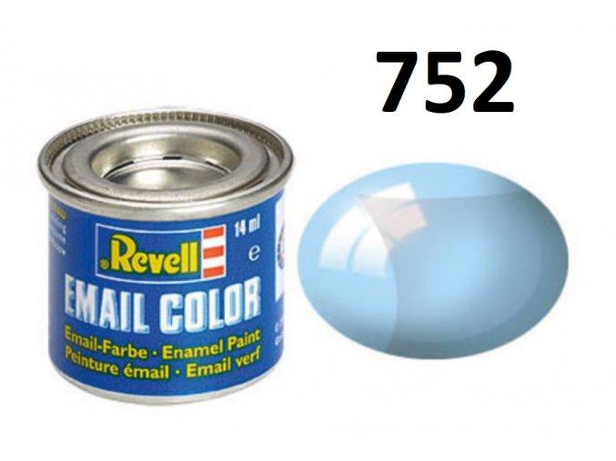Revell barva emailová - 32752: transparentní modrá (blue clear)