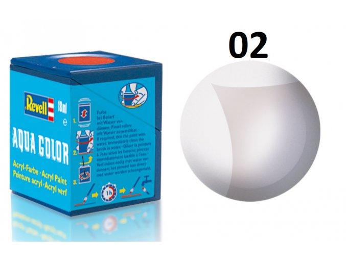 Revell barva akrylová - 36102: matná čirá (clear mat)