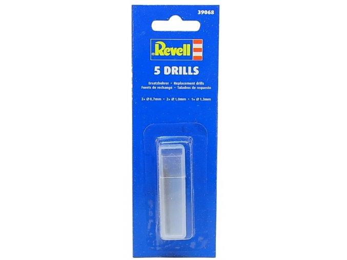 Revell sada vrtáků Drill Bit Set 5 ks 39068
