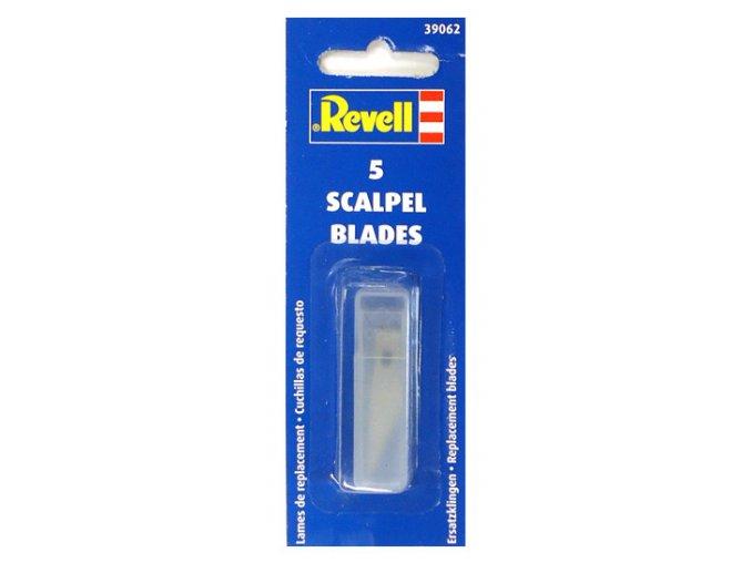 Revell náhradní čepele pro skalpel 5 ks 39062
