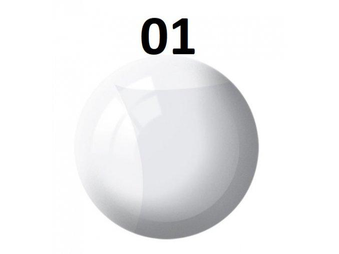 Revell barva (01) akrylová nebo emailová (clear gloss)