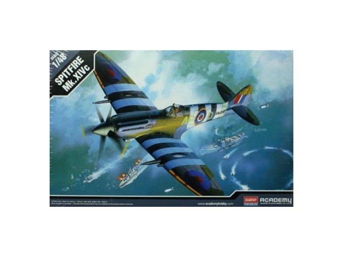 Academy letadlo Spitfire Mk.XIVc 1:48 12274