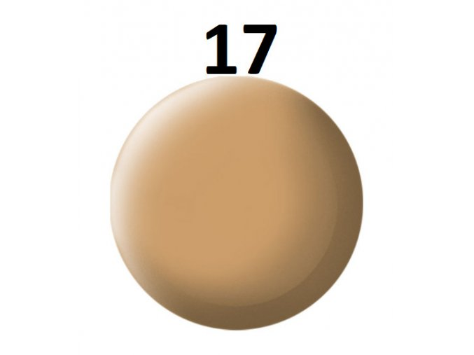 Revell barva (17) akrylová nebo emailová (africa brown mat)