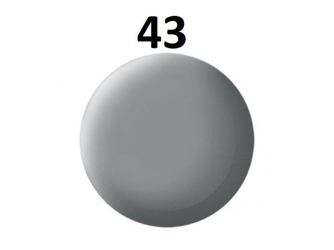 Revell barva (43) akrylová nebo emailová (grey mat USAF w.)
