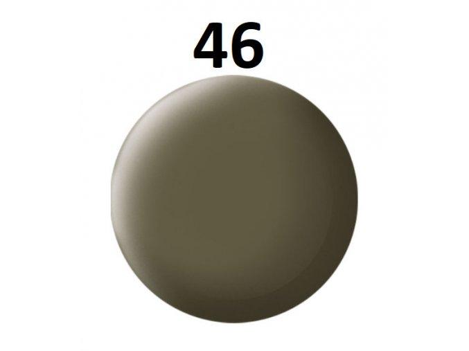 Revell barva (46) akrylová nebo emailová (nato olive mat)