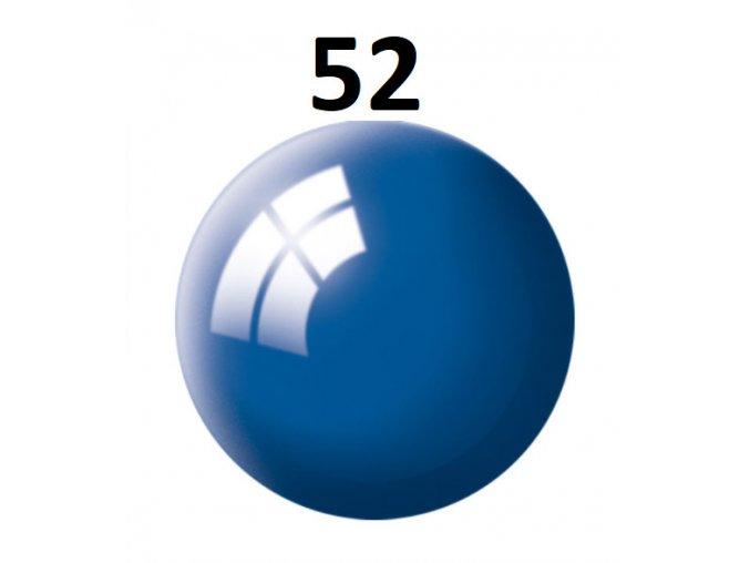 Revell barva (52) akrylová nebo emailová (blue gloss)