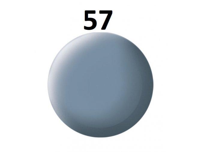 Revell barva (57) akrylová nebo emailová (grey mat)