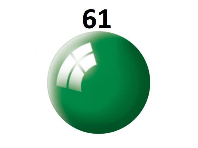 Revell barva (61) akrylová nebo emailová (emerald green gloss)