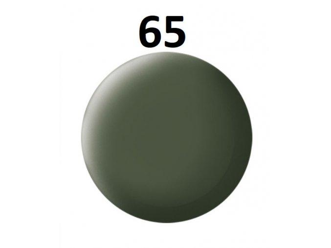 Revell barva (65) akrylová nebo emailová (bronze green mat)