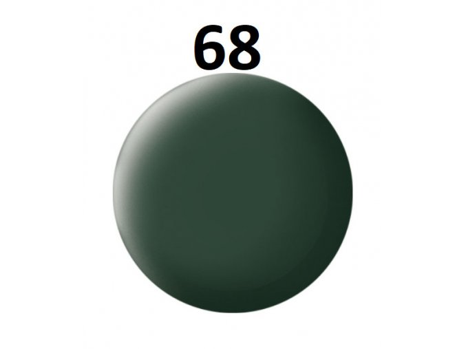 Revell barva (68) akrylová nebo emailová (dark green mat RAF)