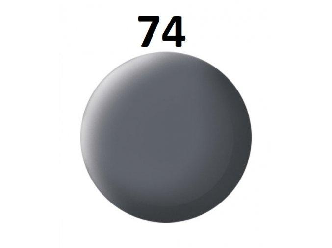 Revell barva (74) akrylová nebo emailová (gunship-grey mat USAF)