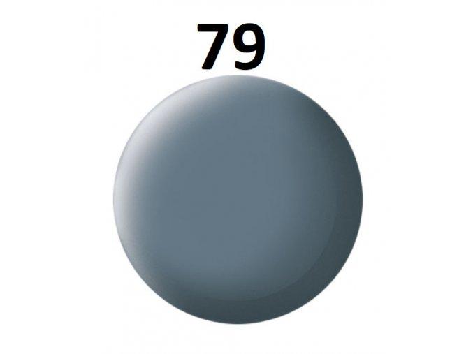 Revell barva (79) akrylová nebo emailová (greyish blue mat)