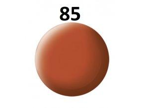 Revell barva (85) akrylová nebo emailová (brown mat)