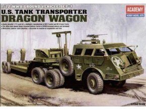 Academy auto Tank Transporter Dragon Wagon 1:72 13409