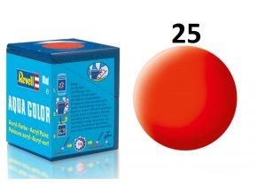 Revell barva akrylová - 36125: matná světle oranžová (luminous orange mat)