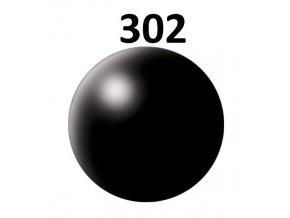 Revell barva (302) akrylová nebo emailová (black silk)
