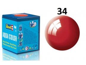 Revell barva akrylová - 36134: lesklá ferrari červená (Ferrari red gloss)