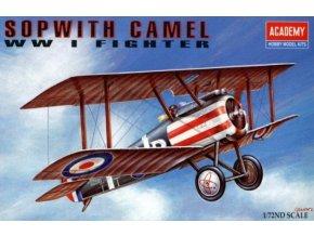 Academy letadlo Sopwith Camel 1:72 12447