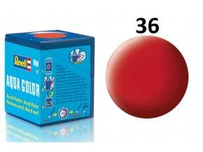 Revell barva akrylová - 36136: matná karmínová (carmine red mat)