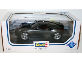 Revell Artega GT Dark grey kovový mode 1:18 09024