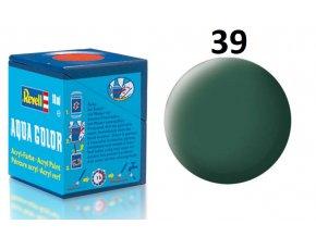Revell barva akrylová - 36139: matná tmavě zelená (dark green mat)