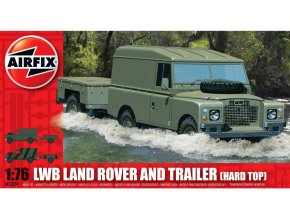 Airfix LWB Land Rover and Trailer 1:76 A02324