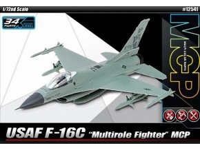 Academy letadlo F-16C Quick Build 1:72 12541